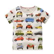 Vidmid динозавра тройники дизайнер летние футболка футболки мальчик мальчики рубашки марка