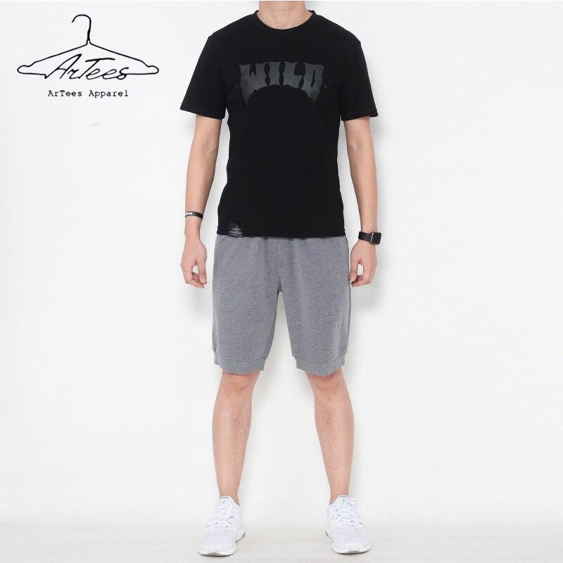 Art-shirts 2017 été mode hommes t-shirt décontracté à manches courtes t-shirt hommes marque vêtements tendance décontracté Slim Fit haut hip-hop t-shirts
