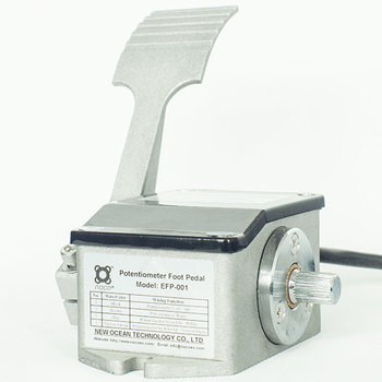 Potentiometer Throttle (Foot Pedal) Speed Signal Device with 4-Pin Connector EFP-001 israel pe30 4 7k potentiometer