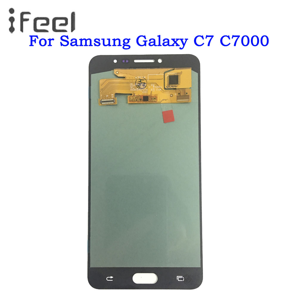 Phone LCD For Samsung Galaxy C7 C7000 SM-C7000 Super AMOLED Display Touch Screen Digitizer Assembly Phone LCD For Samsung Galaxy C7 C7000 SM-C7000 Super AMOLED Display Touch Screen Digitizer Assembly