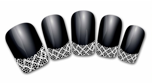 3d nail art stickers decal french