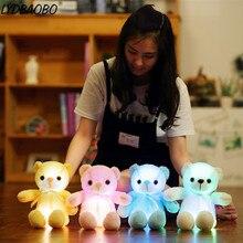 Plush-Toy Teddy Light-Up Glowing Creative Bear-Luminous LED LYDBAOBO for Kids 1PC 32CM
