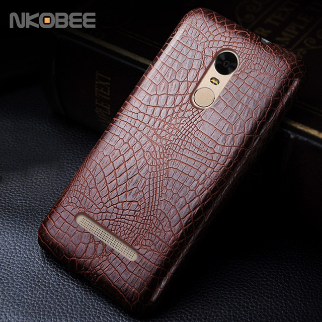 detailed look 0644e af036 US $4.99 |KOBEE For Xiaomi Redmi Note 3 Pro Case Leather 3D Crocodile Skin  Hard Back Cover For Xiaomi Redmi Note 3 Pro Prime Mobile Phone on ...