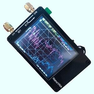 Image 3 - Per Nanovna Vector Analizzatore di Rete Presse Schermo Hf Vhf Uhf Uv 50Khz 900Mhz Analizzatore di Antenna A Pagamento