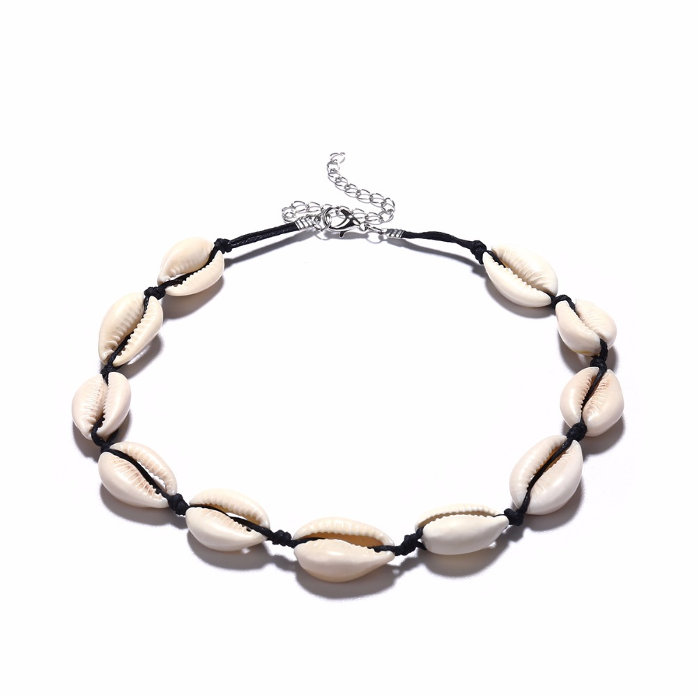 Artilady shell choker necklace gold chain necklace Cowrie boho jewelry for women party gift drop shipping 6