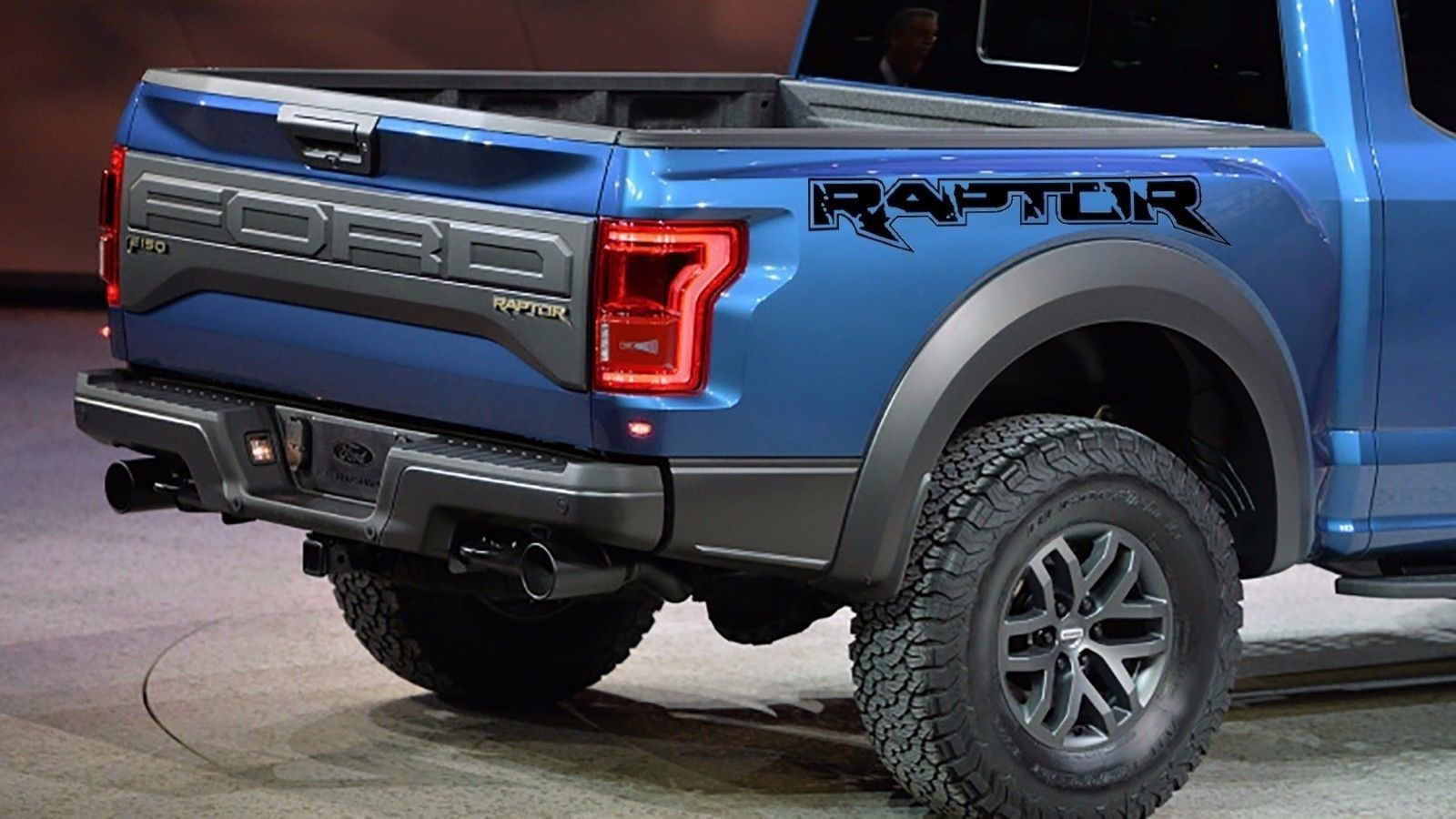 For 2pcs Truck Vinyl Decals For Ford Raptor F 150 Svt Graphics