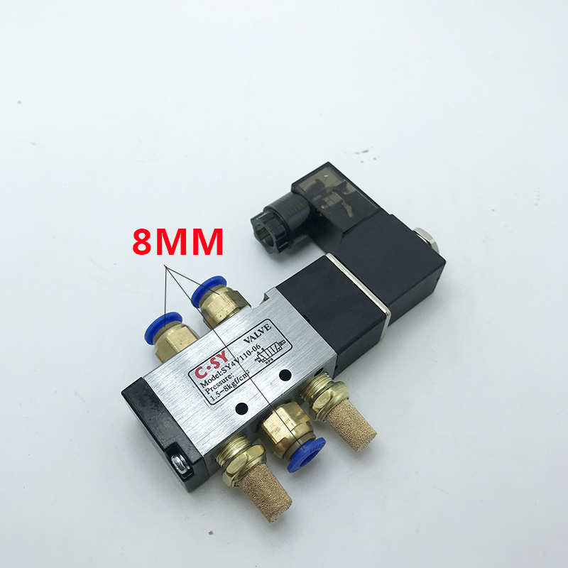 Air Pneumatic Solenoid Valve <font><b>1</b></font>/8