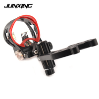 New 5 Pin Bow Sight with Sight Light Adjustable Sight Bubble Level for Compound Bow Archery Hunting Shooting