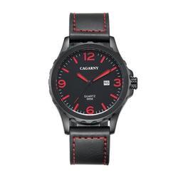 Элитный бренд cagarny Часы Для мужчин Повседневное кварца Reloj кожаный наручные часы армия Военная Униформа Reloj Hombre Для мужчин часы Relogio Masculino