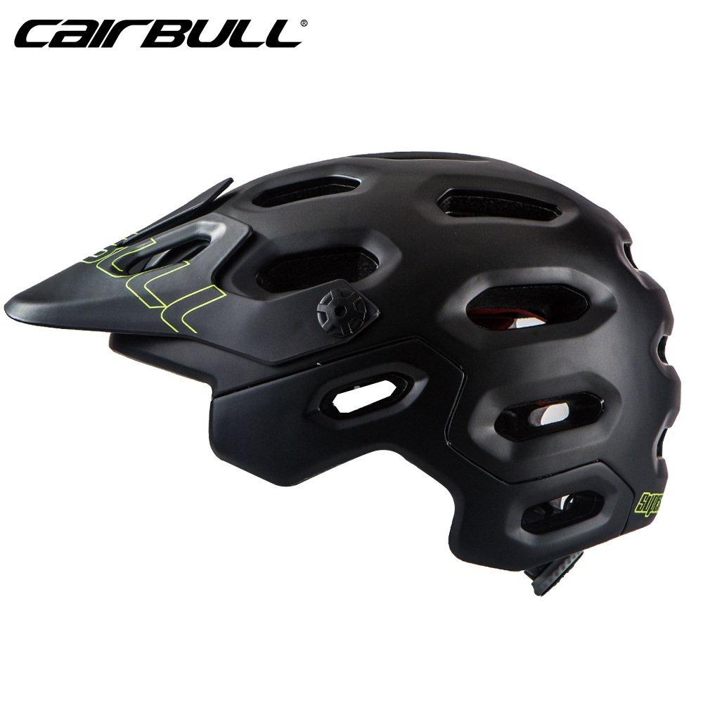 Cairbull OFF-ROAD Cycling Helmet Casco Ciclismo PC+EPS Bicycle Bike Adjustable Visor Mountain Helmet Safety MTB Casque Biking