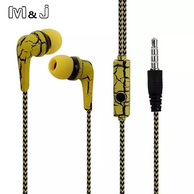 M&J originalni mobilni telefoni slušalke ledene razpoke oblikovanje - Prenosni avdio in video - Fotografija 5