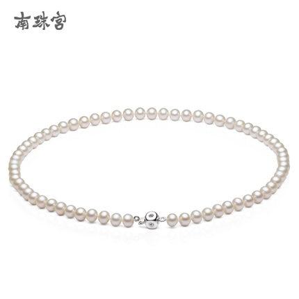 Женская пресной воды Жемчужное ожерелье