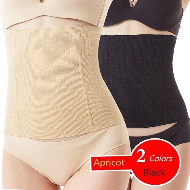 Women slim waist Belt Waist Trainer Slimming Wedding Body Shaper Postpartum Belly Band Pulling Underwear Long Torso Corset 4