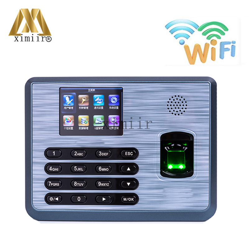 TX628 With WIFI Function Fingerprint Time Recognition 3000 Fingerprint Users Fingerprint Time Clock Time Attendance