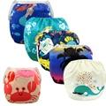 2016 Nuevos diseños de Moda, Summer Swim Pañales Para Bebés y Niños, ajustable Reutilizables Pañales de Natación Cubierta Del Pañal