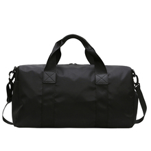 2019 Big Capacity Men Trainning Travel Bags Oxford Waterproof Women Duffle Bag Black Casual carry on Ladies luggage bags