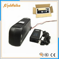 Free shipping downtube Samsung battery 36v 11ah lithium battery for electric bikes 500w 36v