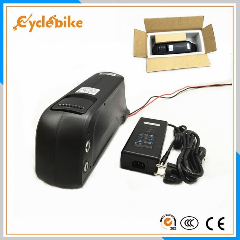 Livraison gratuite batterie au lithium downtube Samsung 36 v 11ah pour vélos électriques 500 w 36 v