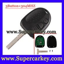 Бесплатная Доставка (1 шт.) отличное Качество Дистанционного ключа 304 мГц 2 кнопка HU43 лезвия Подходят Для ключа Chevrolet Lumina Holden COMMODORE