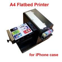 Hot sales  A4 Flatbed Printer T shirt Printer inkjet Flatbed Printer for CD /DVD Cards Phone case/T-shirt/Pen/Plastic