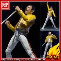SALE 100% Original BANDAI Tamashii Nations S.H.Figuarts (SHF) Action Figure Freddie Mercury from Live at wembley stadium