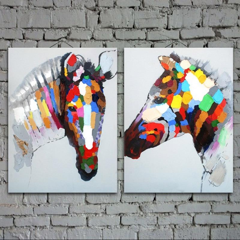 Cēzara eļļas glezna mūsdienu eļļas glezna uz audekla abstrakta - Mājas dekors - Foto 2