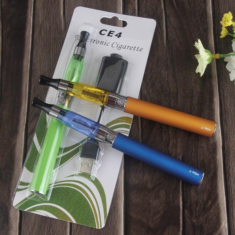 Phenomenon EGo CE4 E Cigarette Blister EGo Kit 1100mah Ego T Battery CE4 Atomizer 1.6ml Electronic Cigarette Vape Pen