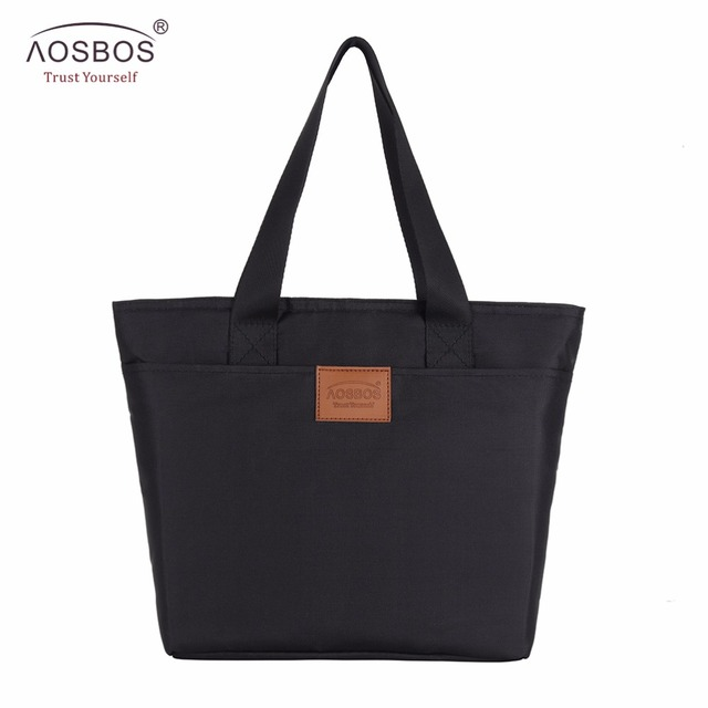 Aosbos New Sandwich Lunch Bags For Women Kids Thermal Tote Insulated Large Breakfast Food