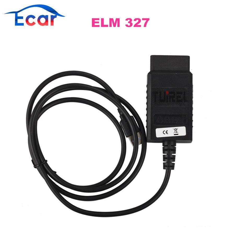 Prix pour USB ELM327 V1.4 En Plastique OBDII EOBD CANBUS Scanner avec FT232RL Puce Logiciel V2.1