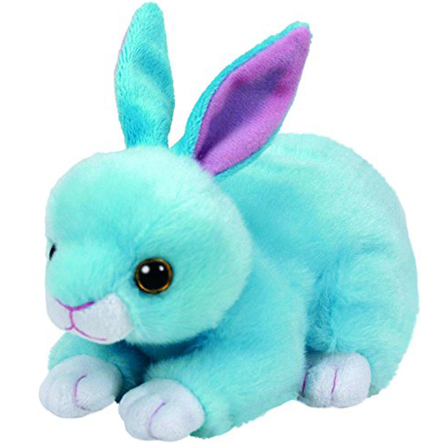 Pyoopeo Ty Beanie Babies 6 15cm Jumper Blue Bunny Plush Regular