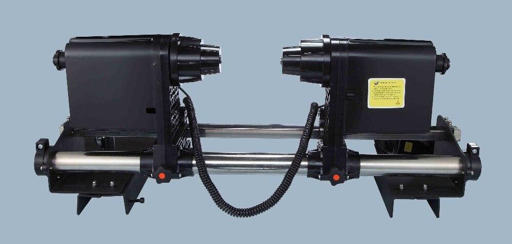 Printer paper reel system Paper take up system with 2 motors for  Mutoh RJ900 RJ8000 RJ8100 VJ1604 VJ1618 VJ1628 VJ1638 PRINTER printer paper take up reel system for epson stylus pro 11880c