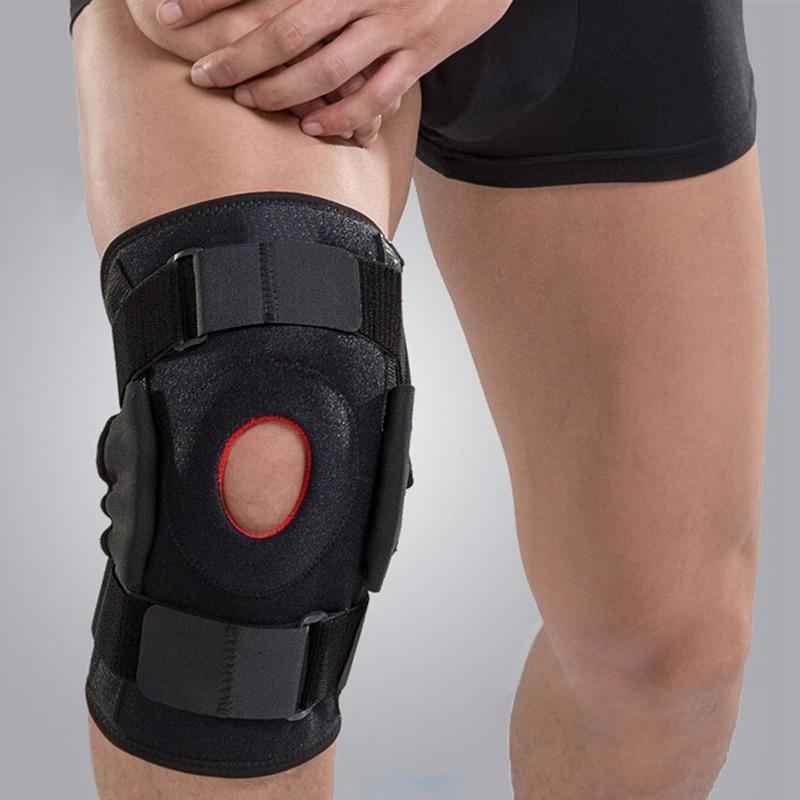 Protector de la rodilla almohadilla para la artritis aparato ortopédico de pierna ortopédica rodilla rodillera soporte Patella Kneepad Leg Protector de Personal de atención de la salud