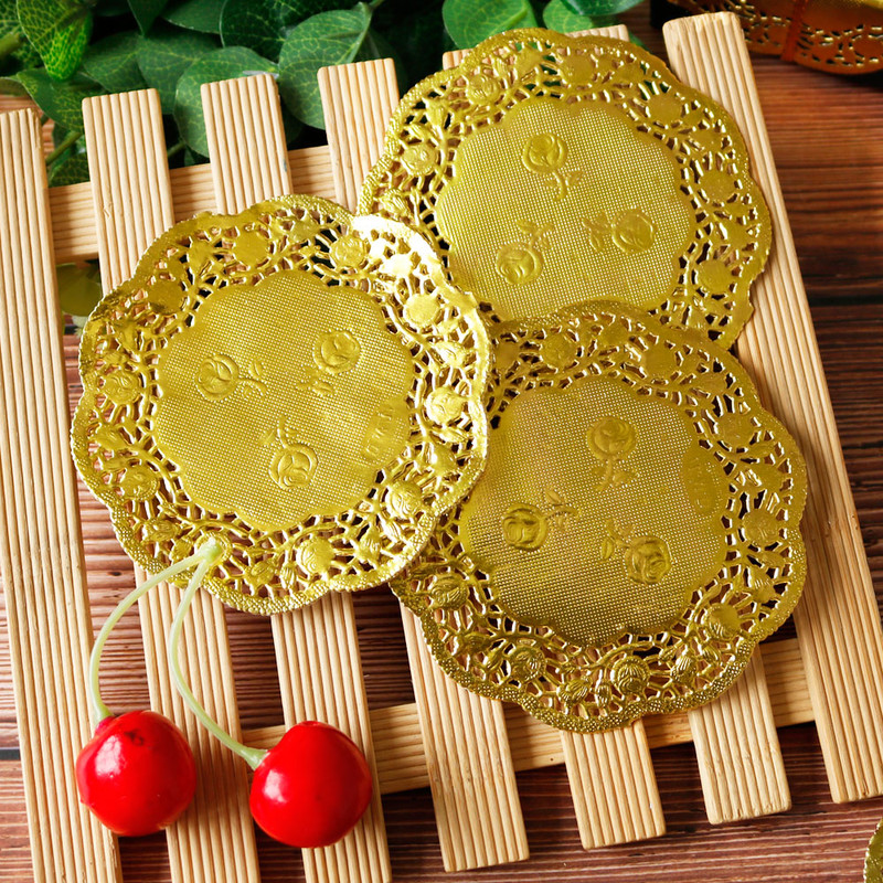 Napkin-Pads Paper-Mat Placemat Coasters Doilies Doyleys Weding-Decoration Party 50pcs