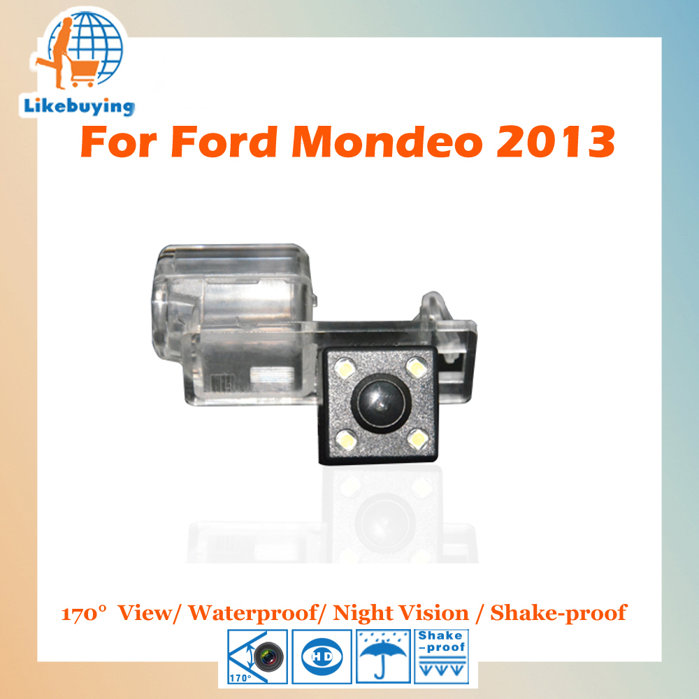 Parking Camera 1 4 Color CCD HD Rear View Camera Reverse Camera For Ford Mondeo 2013