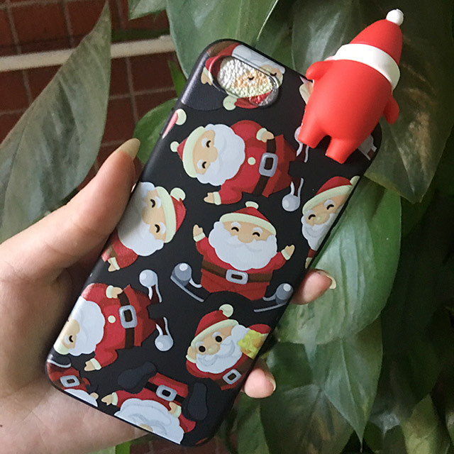 5a54a6d3e1642b Merry Christmas Tree Santa Claus Gift Happy New Year Phone Cases Back Cover  Cartoon Silicone for iPhone 8 X 7 6 5S 6S Phone case