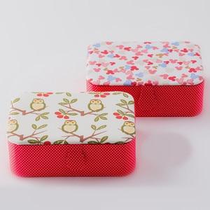 Image 4 - Wedding Fabric Sewing Box Home Wedding Dowry Sewing Kit 33 Stitching Needle Tape Scissor Multifunction Threads