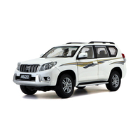 Scale 1:18 Toyota Land Cruiser Prado Diecast SUV Car Model Toys For Gifts Collection