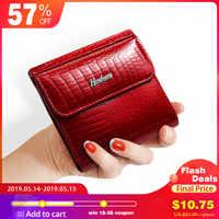 7eeab6816e52 HH тонкий кожаный Для женщин кошельки мини кошелек Для женщин Короткие сцепления  роскошные женские портмоне кошельки