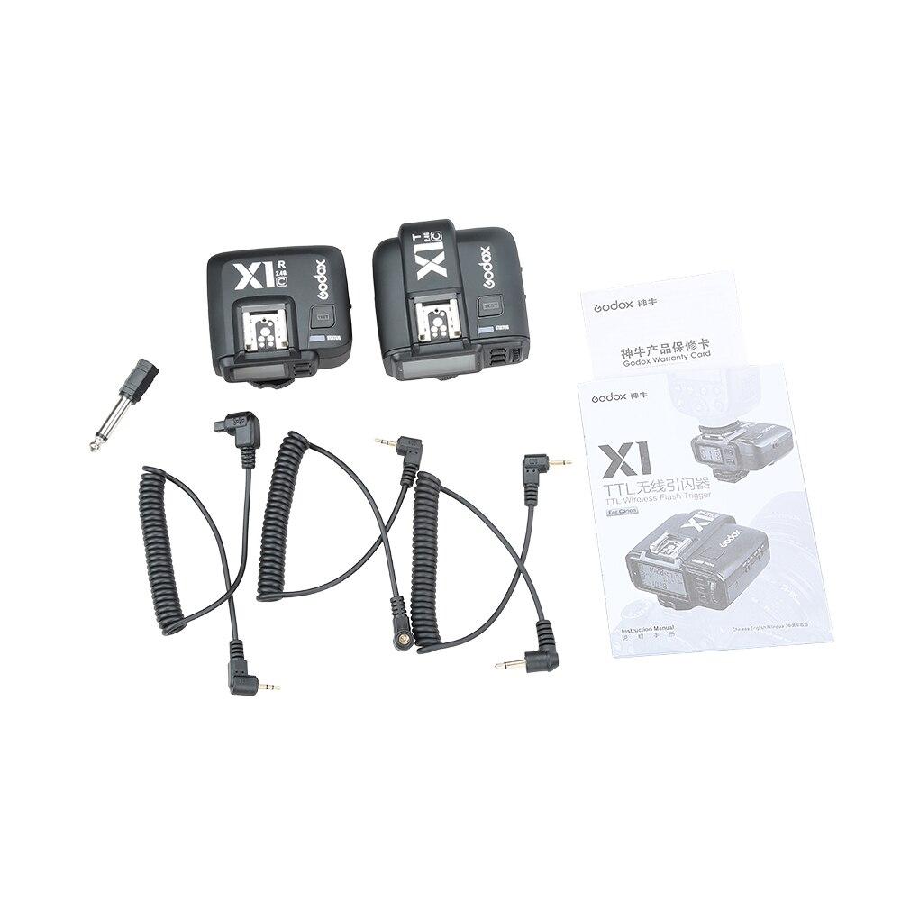 Transmisor inalámbrico Godox X1C TTL 2.4 G con kit de receptor para - Cámara y foto - foto 6