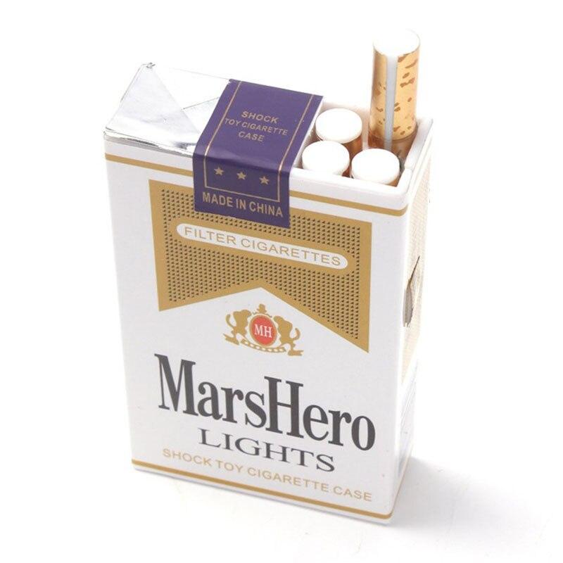 Электрический шок сигареты смешная шутка шалость трюк Новинка игрушка прибор, подарок поставки поддельные сигареты приколы, розыгрышки