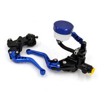 BJMOTO Universal 7/8 22mm Motorcycle Clutch Brake Levers Master Cylinder Kit Reservoir Set For YAMAHA YZF R1 R6 R3 R25