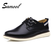 England Style Handmade Breathable Men S Oxford Shoes Top Quality Dress Shoes Men Flats Fashion Leather