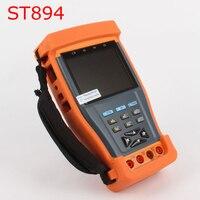 kaycube ST894 PRO 3.5 Inch LCD Test Monitor CCTV Camera Video PTZ RS485 UTP Tester UTP Multimeter