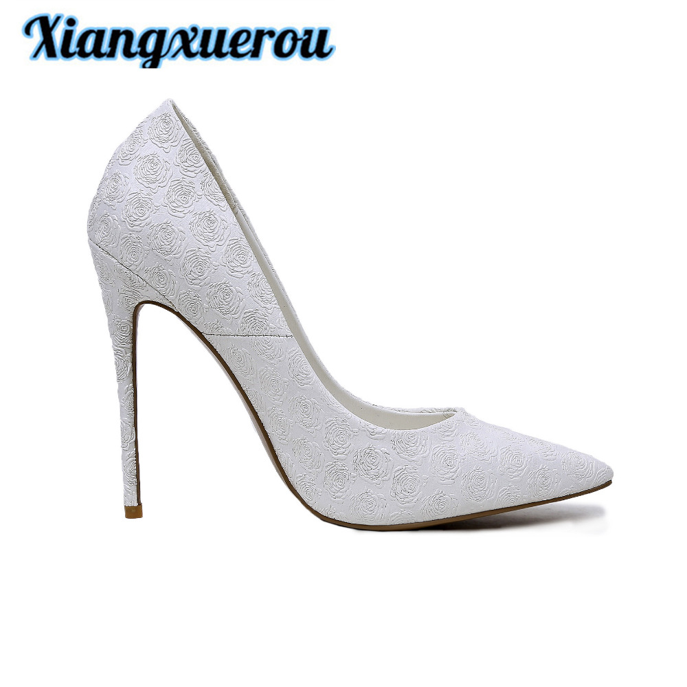 Xiangxuerou 2018 In spring of 2018, the new sexy pointy high custom embossing process rose high and thin and women's shoes. ravindra kumar jain nod factors and nodulation process by rhizobia in cicer arietinum