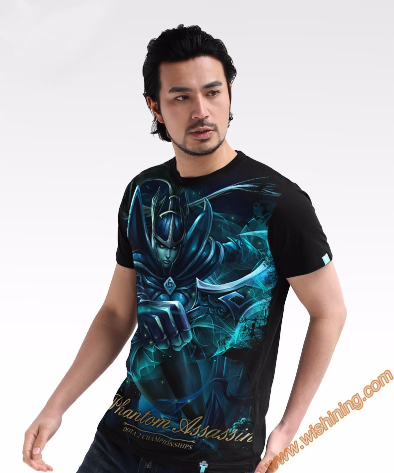 DOTA 2 Phantom Assassin t-shirt Tee8701 (2)