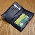 LANSPACE genuine Leather wallet men famous brand purse