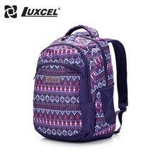 Luxcel Рюкзак Для Студента Подросток Школа мешок Женщин Повседневная Daypacks Рюкзак путешествия