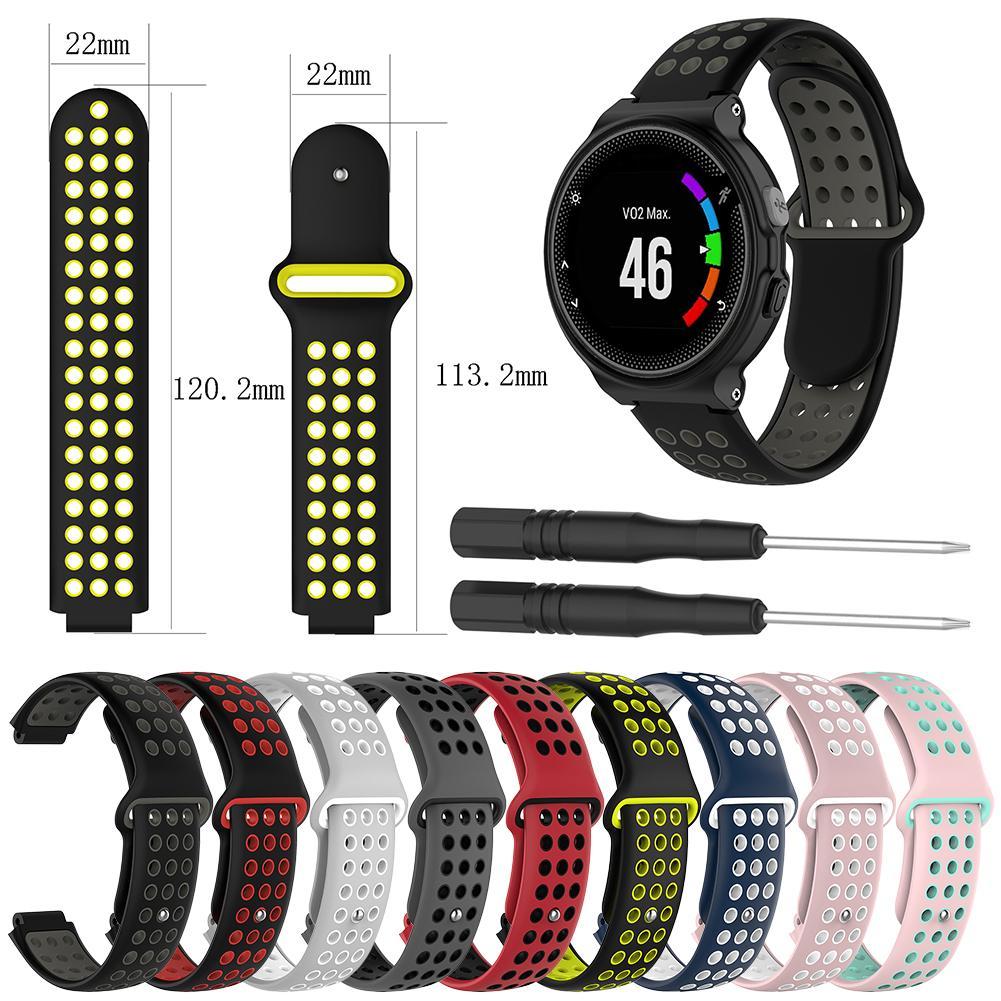 Cleveres Zubehör Ootdty Silikon Uhr Strap Band Für Garmin Forerunner 220 230 235 620 630 Smart Uhr Bestellungen Sind Willkommen.