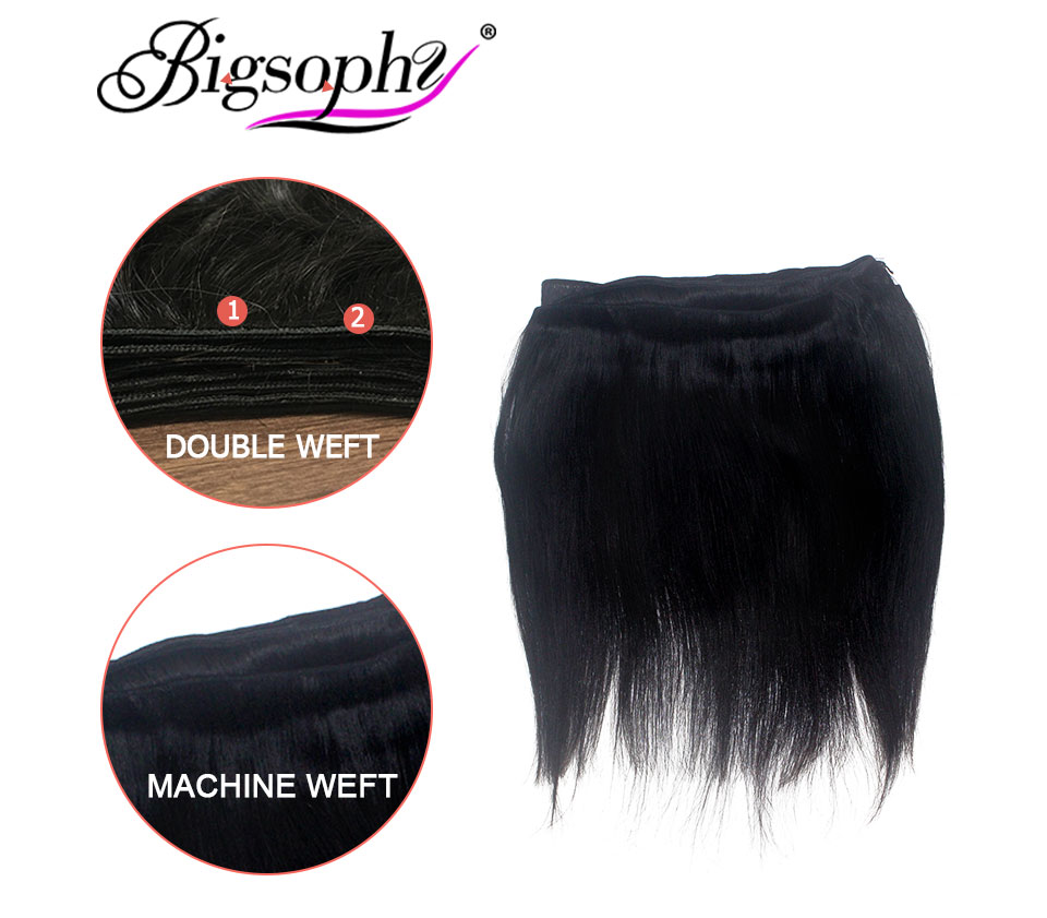 Brazilian Hair Body Wave 3 Bundles With Closure Human Hair weave bundles with frontal Lace Closure remy hair Extension BIGSOPHY (7)