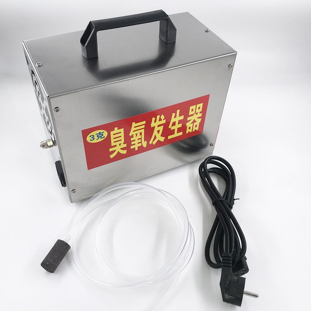 3000mg ozone generator ozonizer air water purifier machine sanitizer 220V